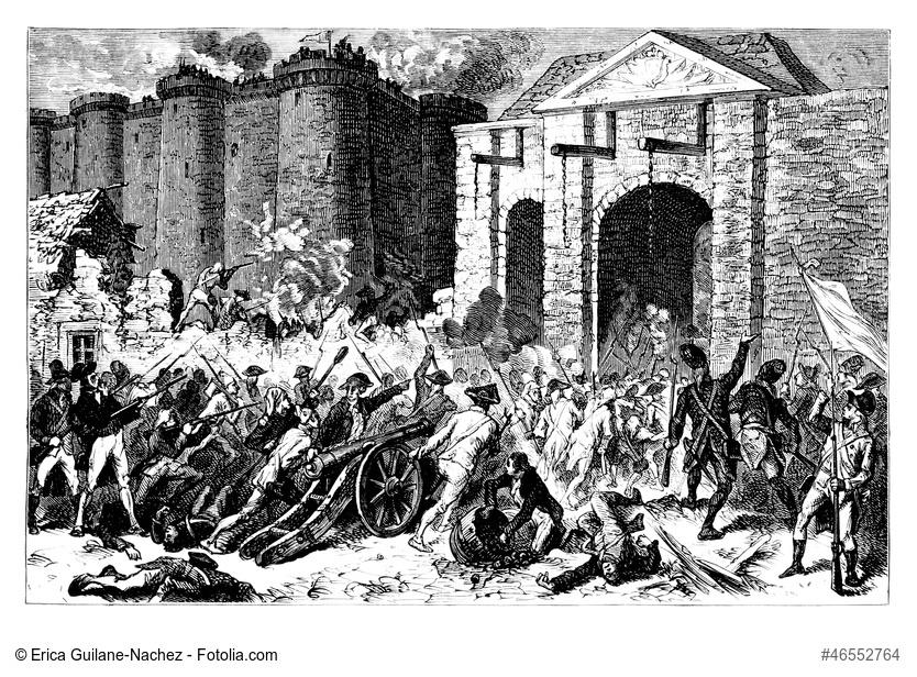 14. Juli 1789 - Sturm auf die Bastille